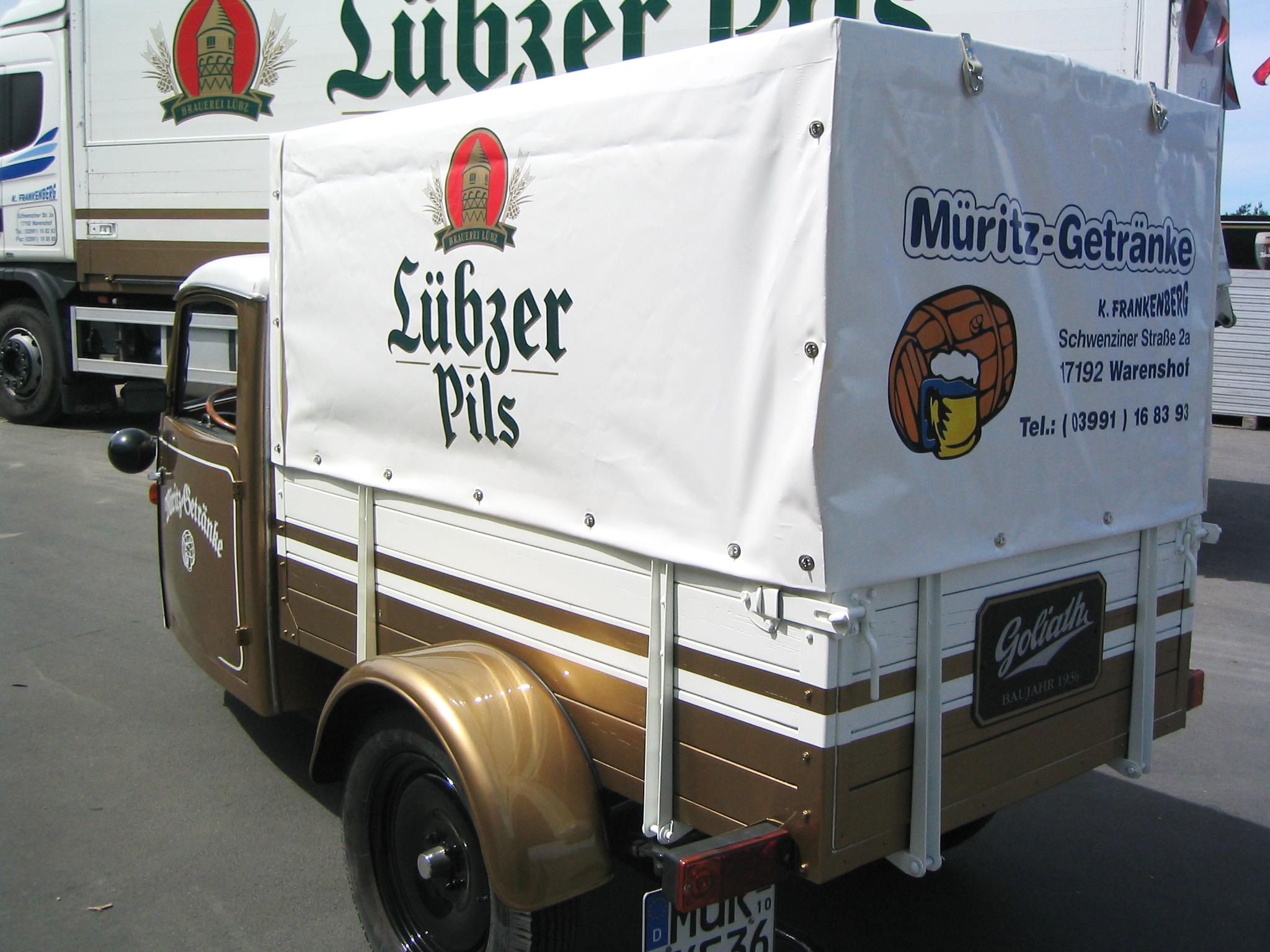 Getränkelieferung für Ihr Unternehmen   Müritz-Getränke